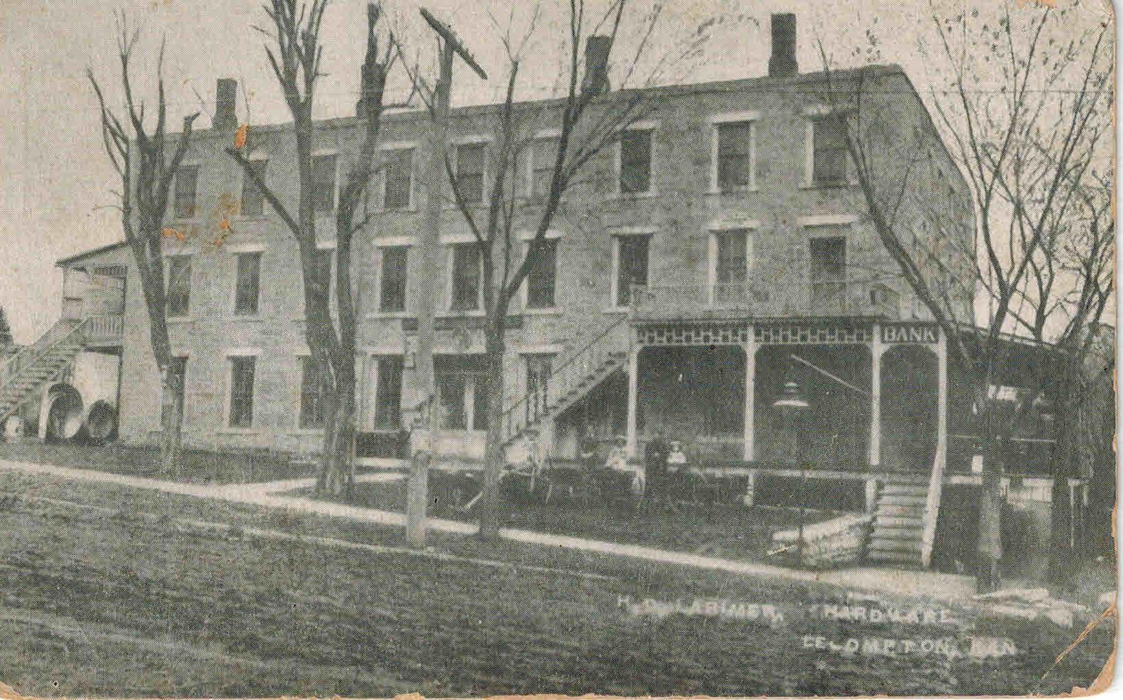罗威纳酒店,领土立法机关,堪萨斯州领土,莱坎普顿,莱恩大学